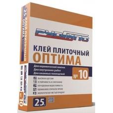 Клей для внутренних работ влагостойкий РусГипс № 10 - 25 кг Краснодар